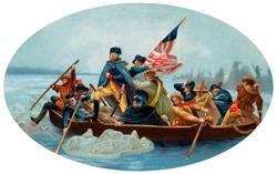 George Washington on the Delaware