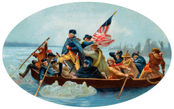 George Washington on the Delaware