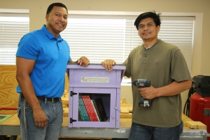 Little Free Libraries to make big literacy impact through 'Groomed for Literacy' collective with HCDE adult learners, City of Houston Public Library