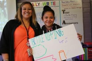 Rookie English teacher finds fulfilling niche with pre-teens through HCDE teacher alternative certification program
